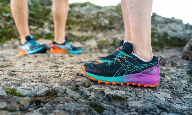 Nouveautés trail 2021 d'Asics : les chaussures TRABUCO™ font sensation